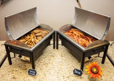 bacon & sausage