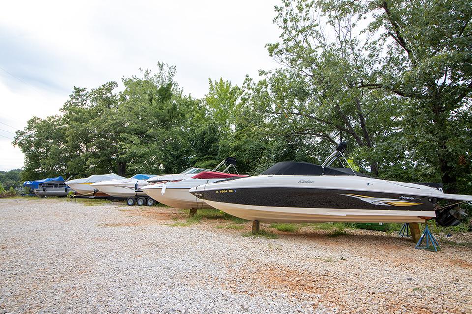 open boat storage
