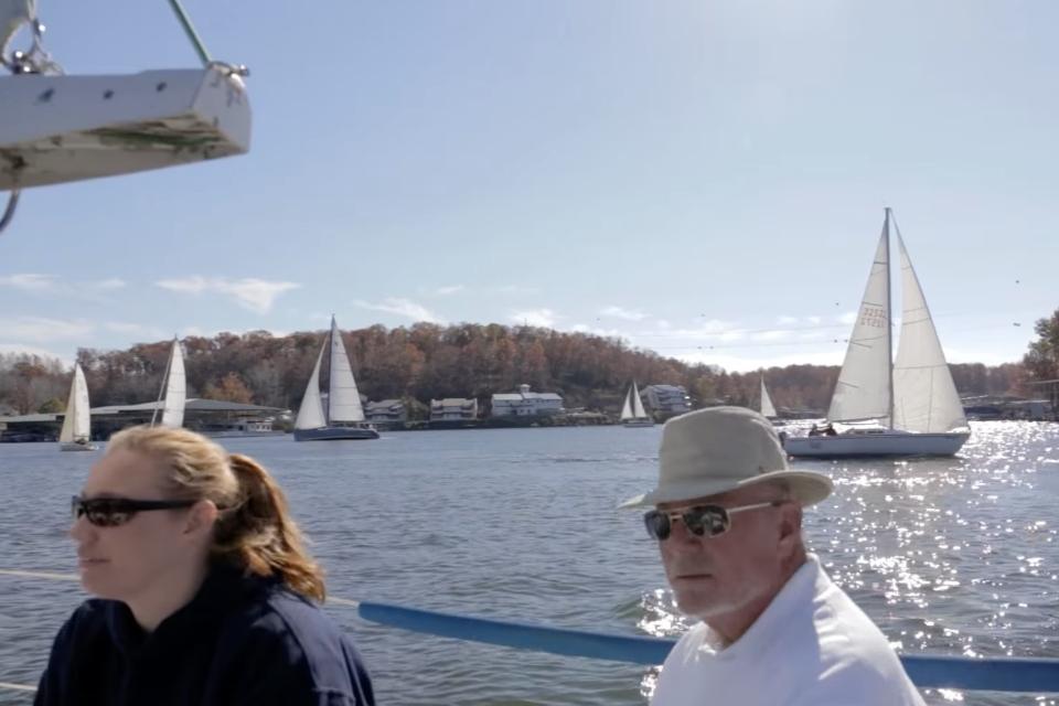 Sail club racing