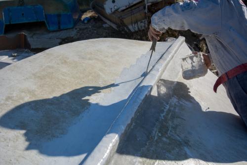 repairing fiberglass